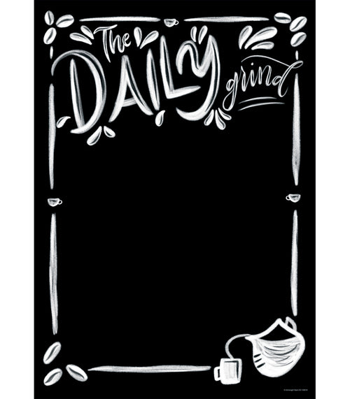 Industrial Cafe 'The Daily Grind' Poster {U PRINT}