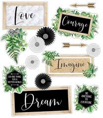 Schoolgirl Style - Simply Boho Inspirational Signs Mini Bulletin Board Set