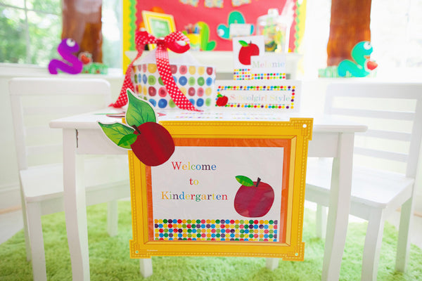 Primary Apple Door Sign