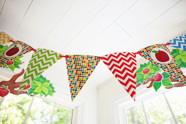 Primary Apple Pennants