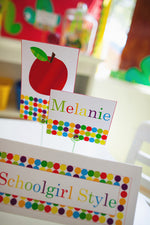Primary Apple Multipurpose Labels {UPRINT}