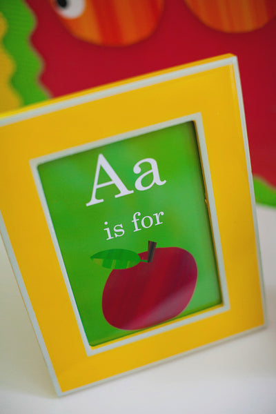 A is for Apple Inspirational Print