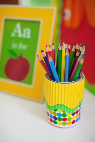 Primary Apple Decorative Papers
