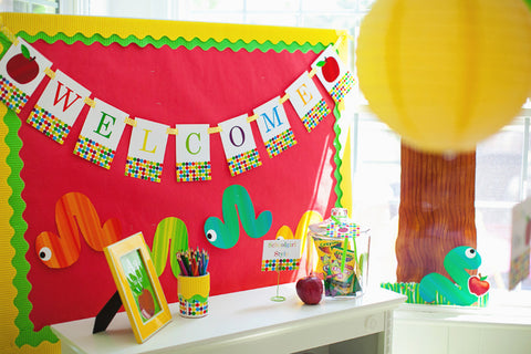 Primary Apple Banner Letters