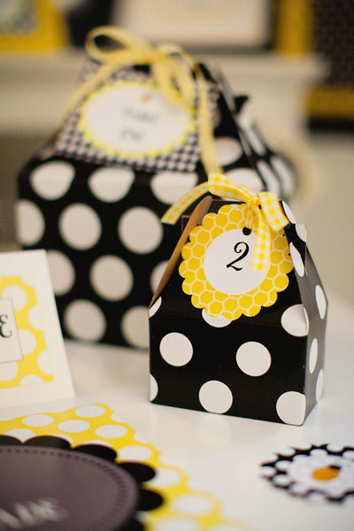 Happy Honeybee Student Number Tags