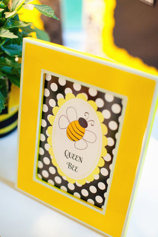 Queen Bee Inspirational Print