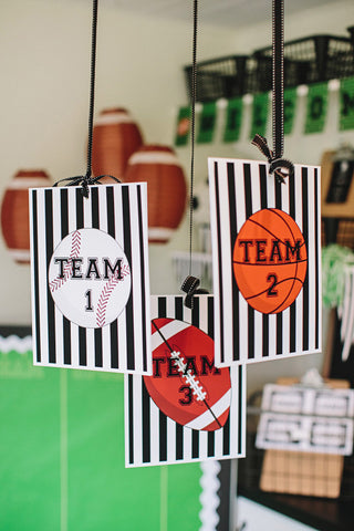 Totally Teamwork Table/Center Signs {UPRINT}