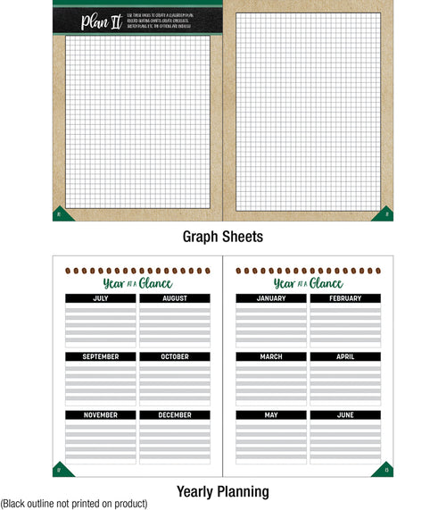 Schoolgirl Style - Industrial Cafe Planner and Organizer