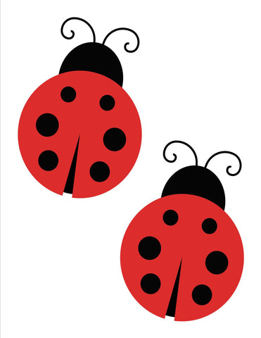 Lovely Ladybugs Cut Outs {UPRINT}