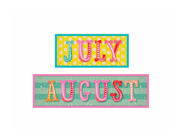 Under the Boardwalk - Calendar Headers