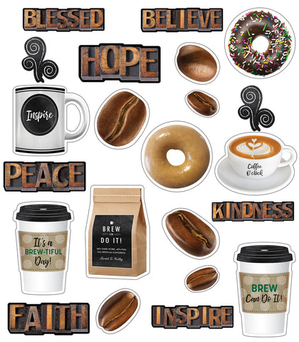 Industrial Cafe 'Morning Motivators' Mini Bulletin Board Set {U PRINT}