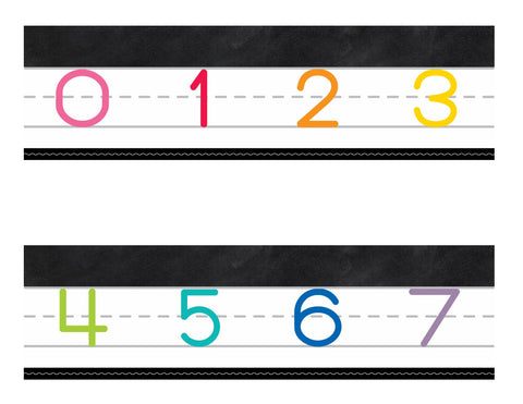Color My Classroom - Number Line 0-120 {UPRINT}
