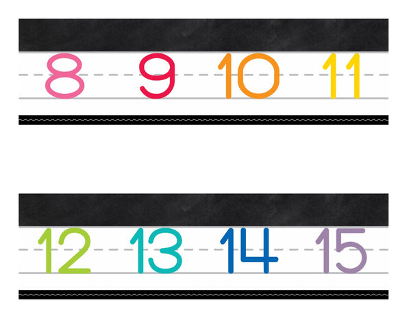 Color My Classroom - Number Line 0-120