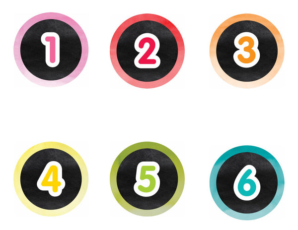 Color My Classroom - Circle Numbers