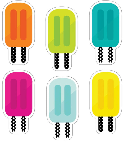 Simply Stylish Tropical Popsicle Cut-Outs