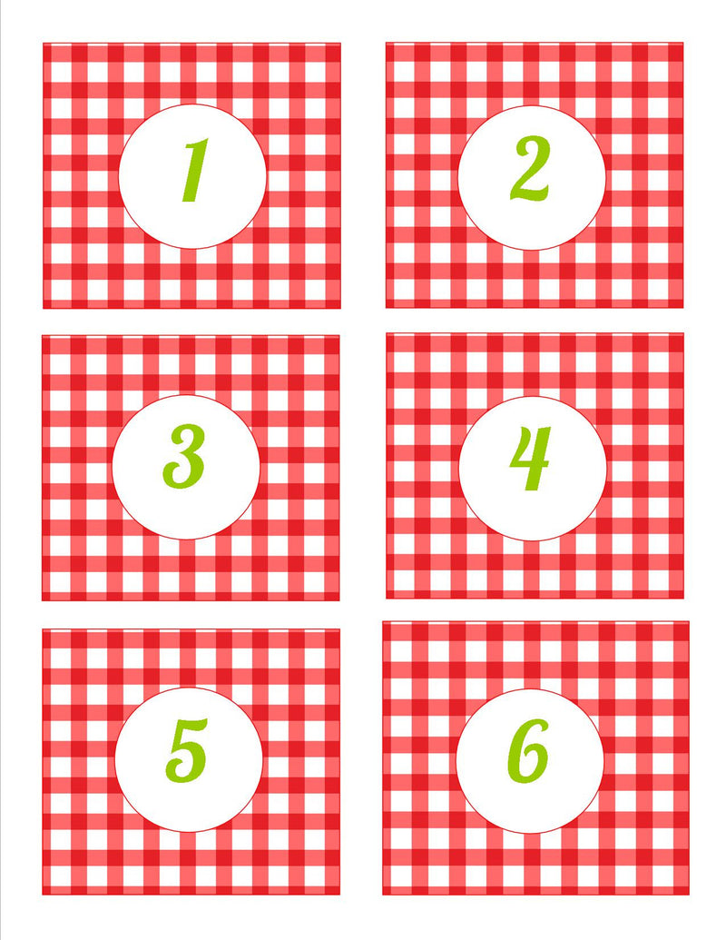 Teacher's Pet Number Tags {UPRINT}