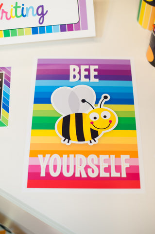 Happy Rainbow Classroom Prints
