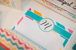 Hello! Sunshine Coral Stationary Set {UPRINT}