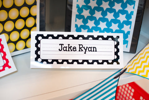 Hooray for Hollywood -Nameplates {UPRINT}