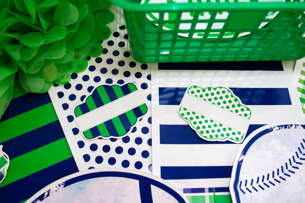 Varsity Prep - Full Collection (Green & Navy) {UPRINT}