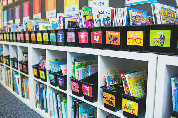 Just Teach - Classroom Library Labels {U PRINT}