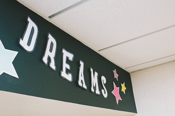 Twinkle Twinkle, You're a Star -  Follow Your Dreams Letters