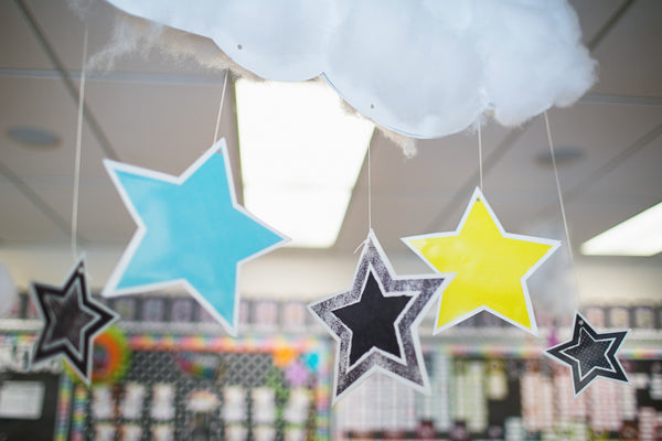 Twinkle Twinkle, You're a Star - Cloud Cutouts