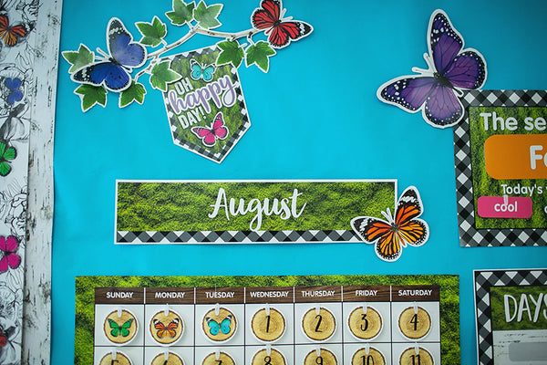 Woodland Whimsy Calendar Set