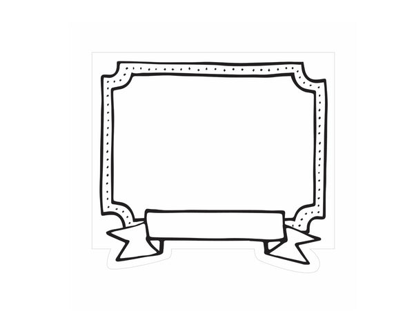 Color My Classroom - Small Doodle Art Frames