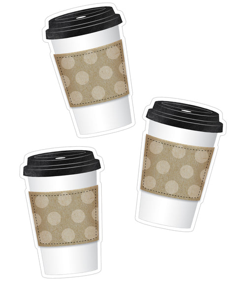 Industrial Cafe To-Go Cups Cut-Outs {U PRINT}