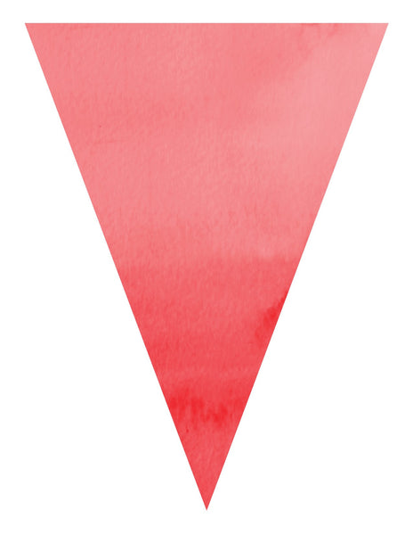 Color My Classroom - Watercolor Pennants {UPRINT}