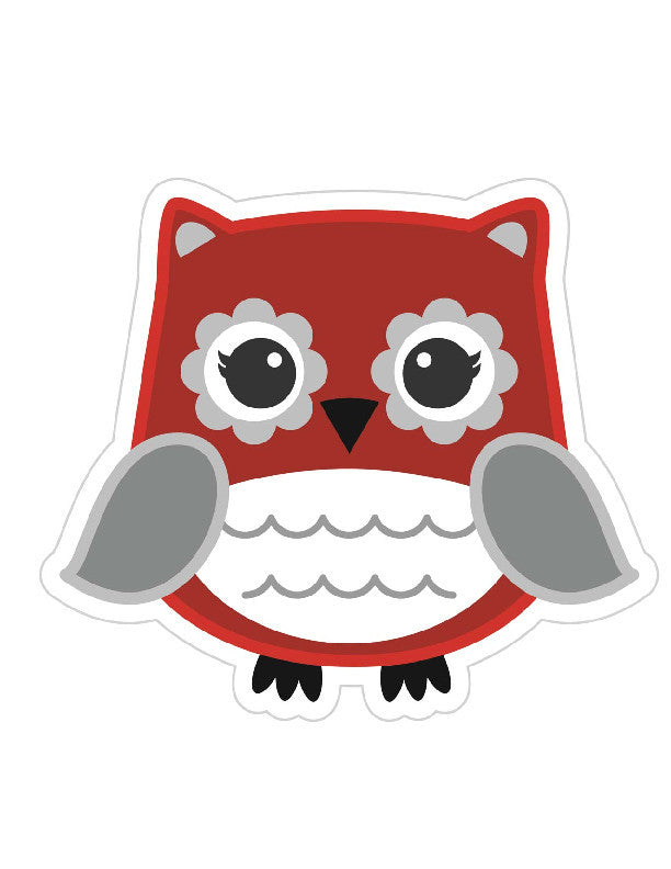 Red Owl Cut Outs {UPRINT}