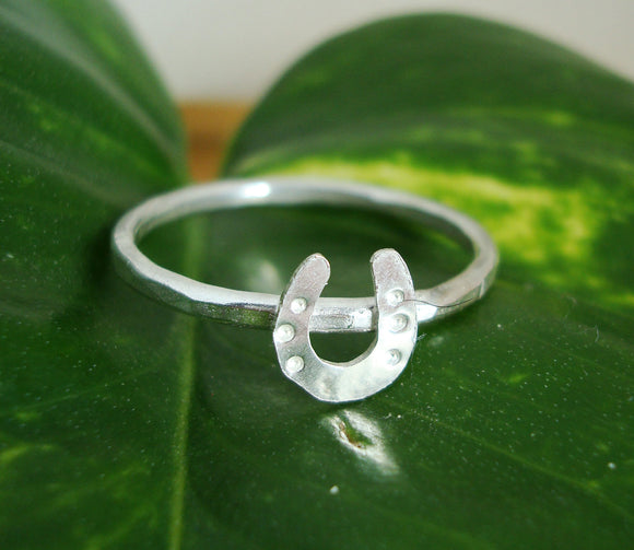 Horseshoe Stacking Ring