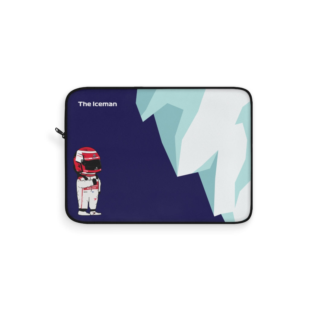 Kimi The Iceman Laptop Sleeve
