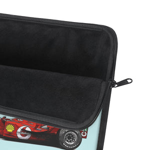 F2004 Livery Laptop Sleeve - Light Blue