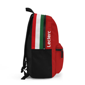 Leclerc & Sainz 2021 SF Backpack - Red