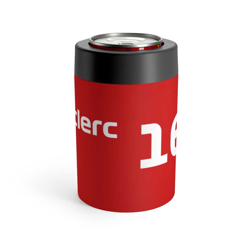 Charles Leclerc Stainless Steel Beer Can Insulator - Red