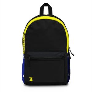 Daniel Ricciardo Backpack Type 2 - Black & Yellow