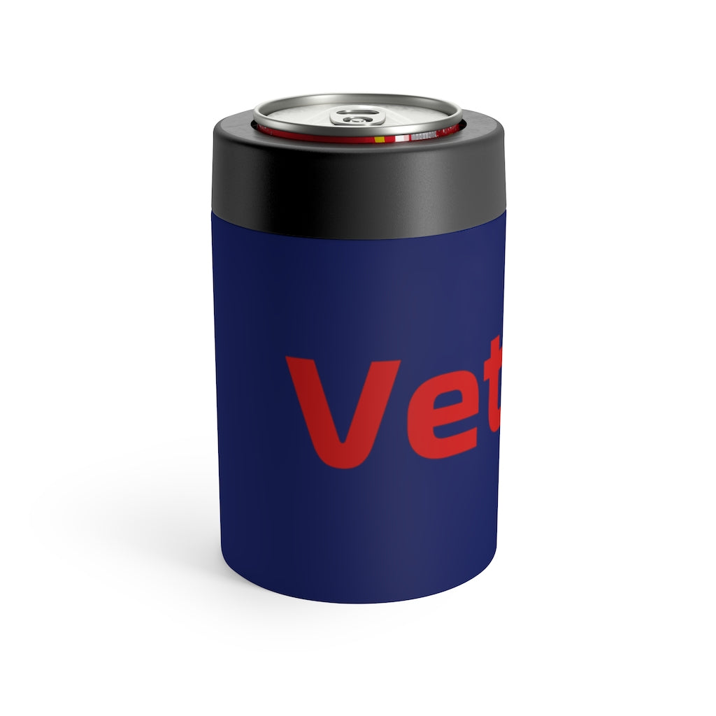 Sebastian Vettel Stainless Steel Beer Can Insulator - Understated Blue