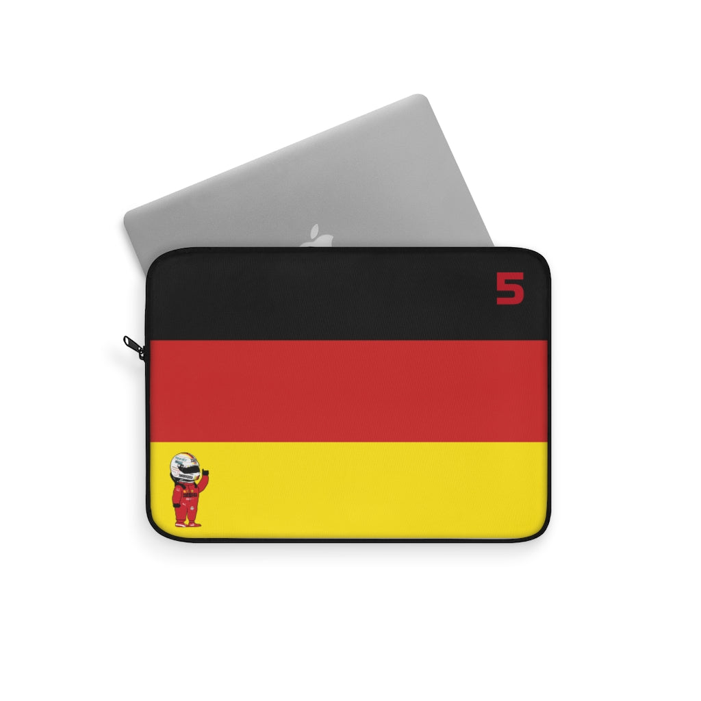 Sebastian Vettel Laptop Sleeve