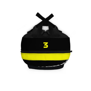 Daniel Ricciardo Race Suit Backpack Type 2 - Black & Yellow