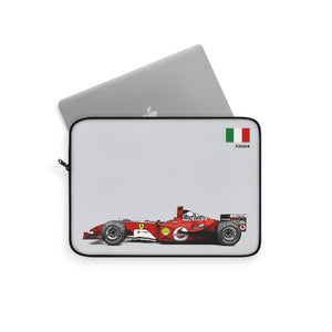 F2004 Livery Laptop Sleeve - Grey