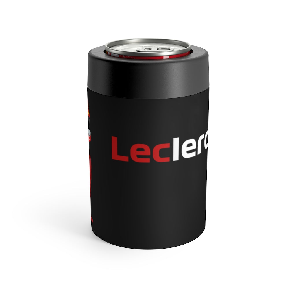 Charles Leclerc Stainless Steel Beer Can Insulator - Black