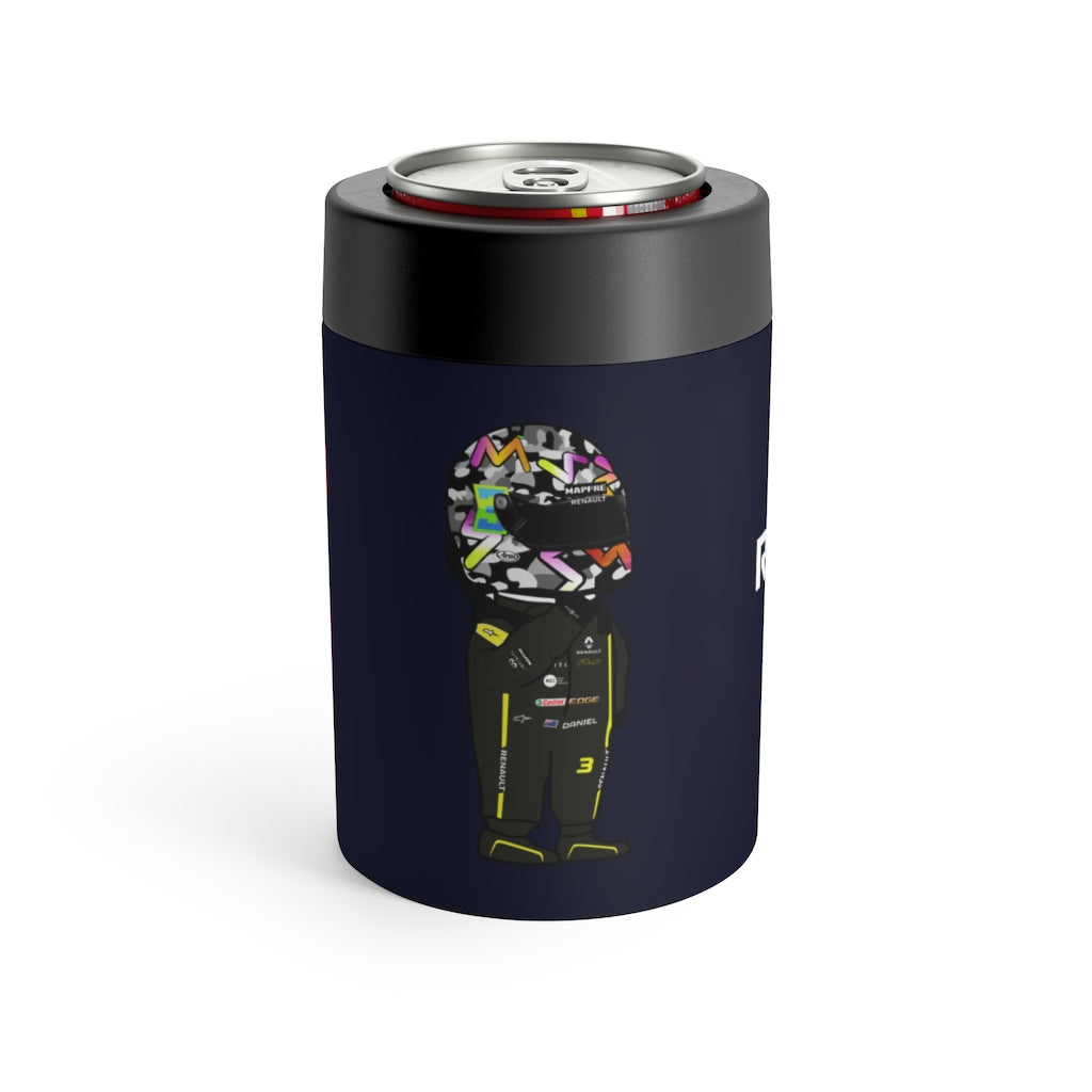 Daniel Ricciardo Stainless Steel Beer Can Insulator