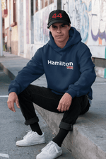 Load image into Gallery viewer, Hamilton Union Jack Hooded Sweatshirt