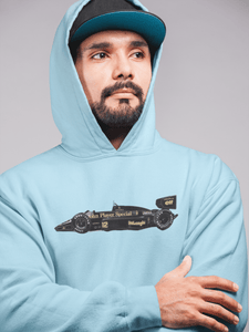 Senna's Lotus 1986 98T Hooded Sweatshirt