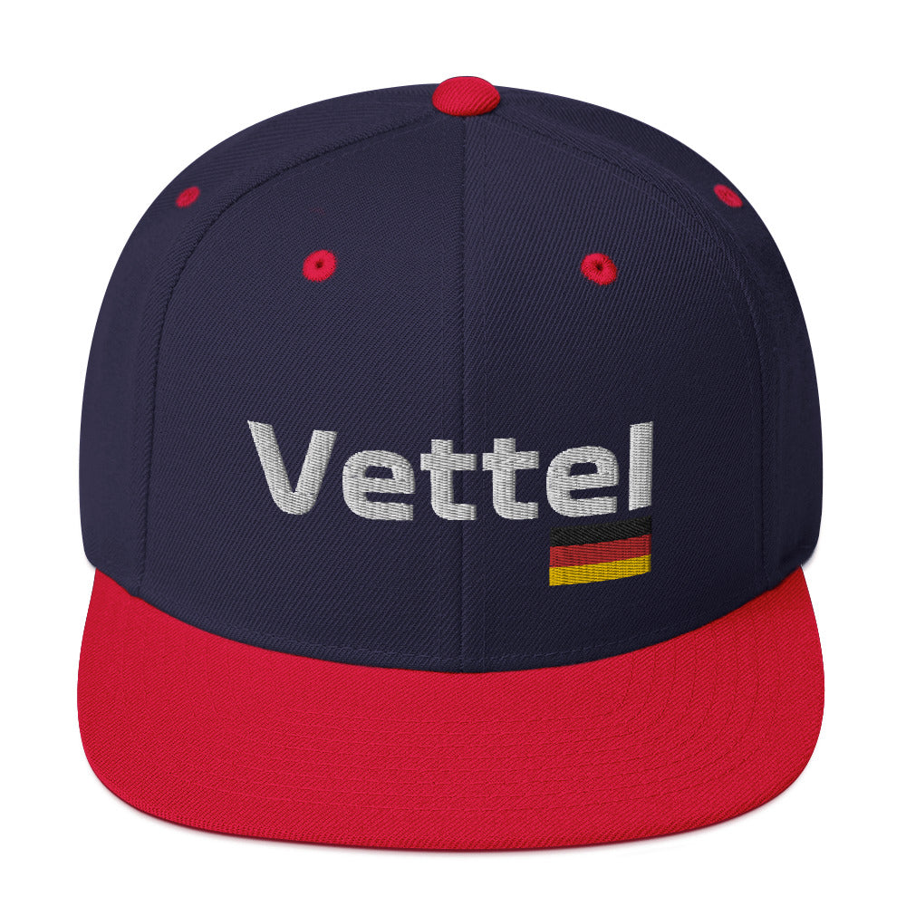 Vettel German Flag Hat