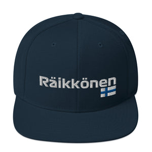 Räikkönen with Finnish Flag Hat