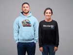 Load image into Gallery viewer, Daniel Ricciardo 2020 Become Unstuck Helmet Hooded Sweatshirt