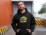 Load image into Gallery viewer, Ayrton Senna Helmet Hooded Sweatshirt